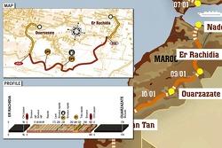 Stage 4: 2007-01-09, El Rachidia to Ouarzazate