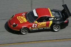 #42 Team Sahlen Porsche GT3 Cup: Michael Auriemma, John Mayes, David Kaemmer, Chris Willcox