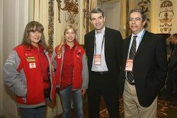 Madalena Antas visits the French embassy in Lisbon