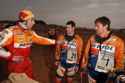 Nani Roma, Jordi Arcarons and Marc Coma