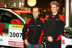 Fabrizio Giovanardi and Tom Chilton, Vauxhall BTCC