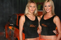 BTCC, Team RAC, BMW 320i, Car Presentation, Promo Girls