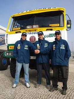 Tomas Tomecek Letka Racing Team: Andre De Azevedo, Jaromir Martinec and Maykel Justo