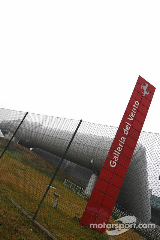 Ferrari wind tunnel
