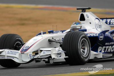 Présentation de la BMW Sauber F1.07