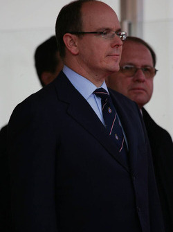 Podium: Prince Albert II of Monaco