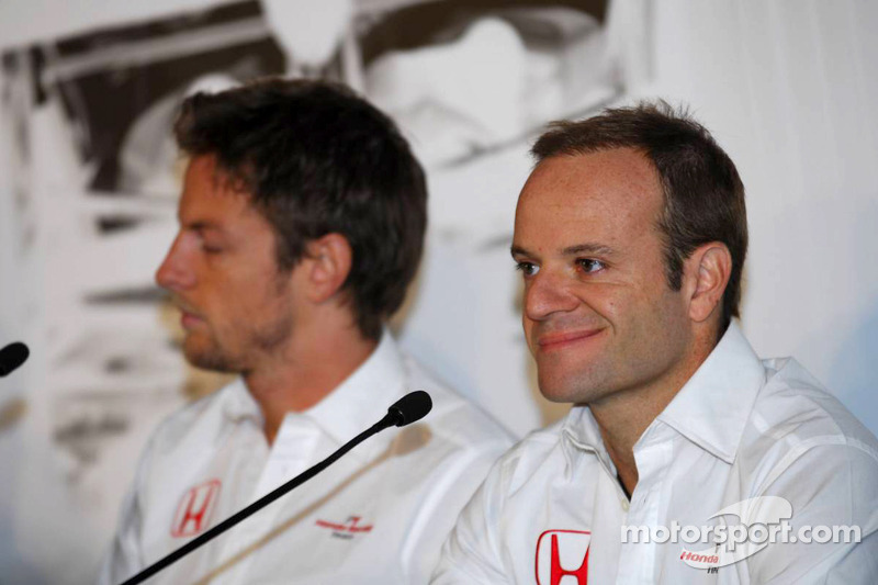 Rubens Barrichello, Jenson Button