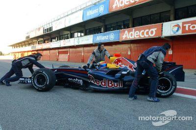 Red Bull Racing RB3 launch, Barcelona