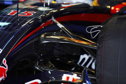 Red Bull Racing RB3 front suspension twin keel