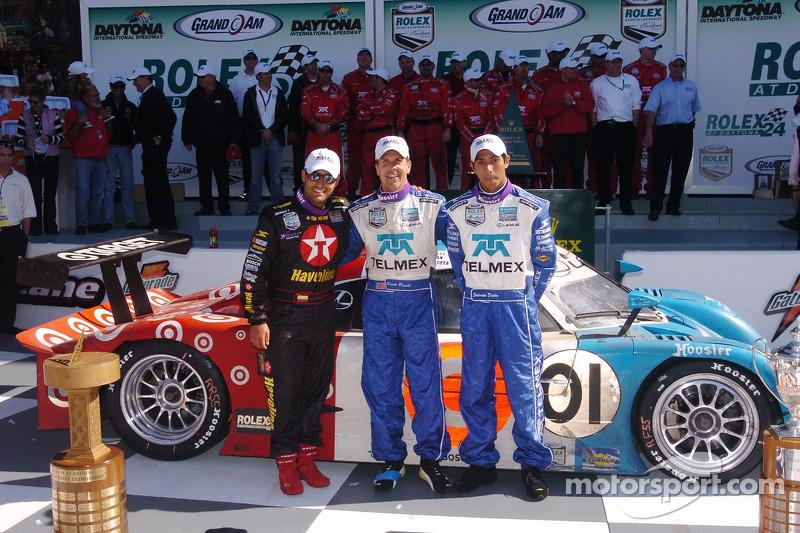 Juan Pablo Montoya (menang tiga kali)