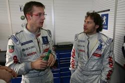 Sébastien Bourdais and Jacques Villeneuve