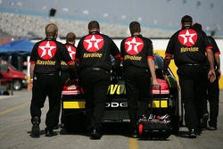 Texaco-Havoline Dodge back from tech inspection
