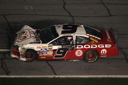 Kasey Kahne in his wrecked car