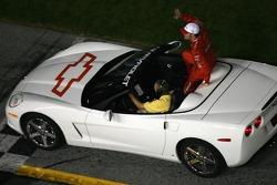 Drivers parade: Dale Earnhardt Jr.