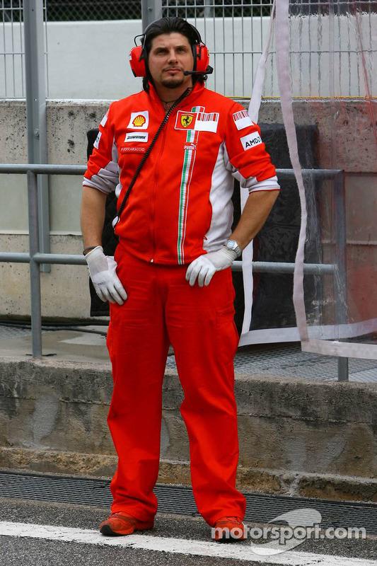 Mitglied der Scuderia Ferrari