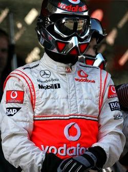 McLaren Mercedes crew members