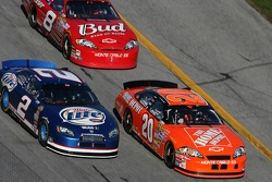 Tony Stewart, Kurt Busch and Dale Earnhardt Jr.