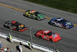 Dale Earnhardt Jr., Mike Wallace, Martin Truex Jr. and Carl Edwards
