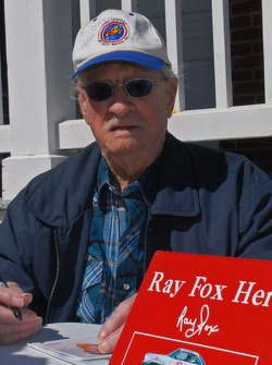 Media tour at the Ponce Inlet Light house: Ray Fox, car owner