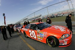 The Home Depot Chevy at tech inspection
