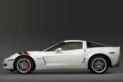 The Ron Fellows ALMS GT1 Champion Corvette Z06 in Arctic White