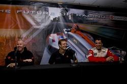 Paul Tracy, Sébastien Bourdais and Justin Wilson