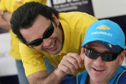 Roberto Colciago, SEAT Sport Italia, SEAT Leon, jokes with Nicola Larini, Team Chevrolet, Chevrolet Lacetti