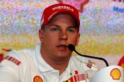 Kimi Raikkonen, Scuderia Ferrari - Shell Press Conference