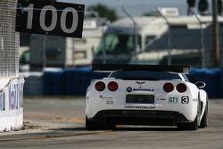 #3 Corvette Racing Corvette C6-R: Ron Fellows, Johnny O'Connell, Jan Magnussen