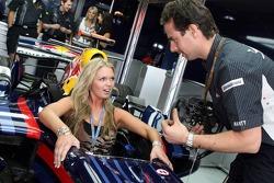 Formula Una in the Red Bull Racing F1 Car