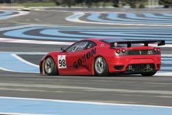 #98 Ice Pol Racing Team Ferrari F430 GT: Yves Lambert, Christian Lefort