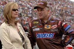 Ricky Rudd et sa femme Linda