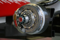Toyota F1 Team, Brake system