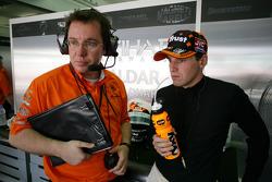 Jody Egginton and Christijan Albers, Spyker F1 Team
