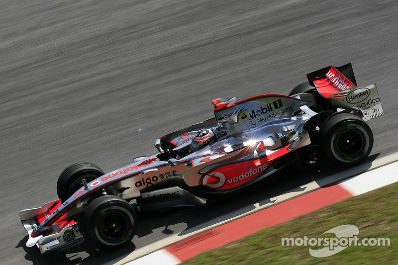 2007 : Fernando Alonso, McLaren MP4-22