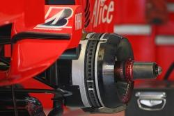 Ferrari technical rear brake disc