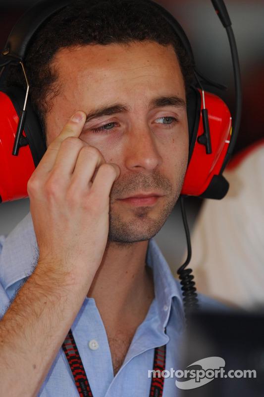 Nicholas Tombazis Scuderia Ferrari Chief Designer At