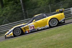 #73 Luc Alphand Aventures Corvette C5-R: Jean-Luc Blanchemain, Sébastien Dumez, Vincent Vosse