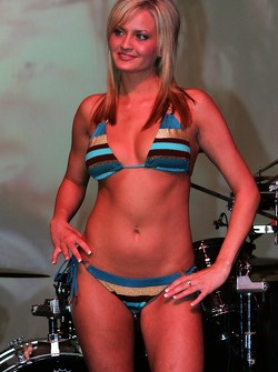 Miss Grand Prix of Houston bikini contest: a lovely contestant