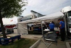 Tafel Racing paddock area