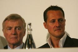 UN Rally for Safer Roads, Michael Schumacher, Scuderia Ferrari, Advisor and Max Mosley, FIA President