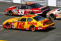 Carl Edwards and Ryan Newman