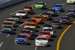 Sterling Marlin and Jimmie Johnson lead the field