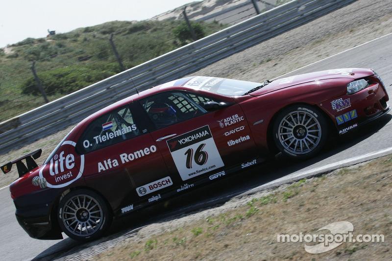 Oliver Tielemans, N Technology, Alfa Romeo 156