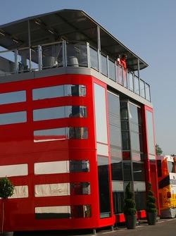 Scuderia Ferrari, new motorhome