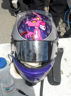 Katherine Legge's new helmet