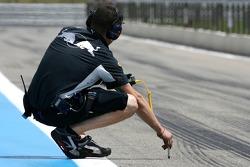 Scuderia Toro Rosso mechanic