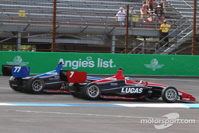 Scott Anderson, Schmidt Peterson Motorsports and R.C. Enerson, Schmidt Peterson Motorsports