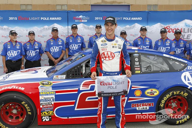 Pole-Sitter: Joey Logano, Team Penske, Ford