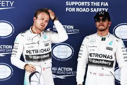 Nico Rosberg e Lewis Hamilton, Mercedes AMG
